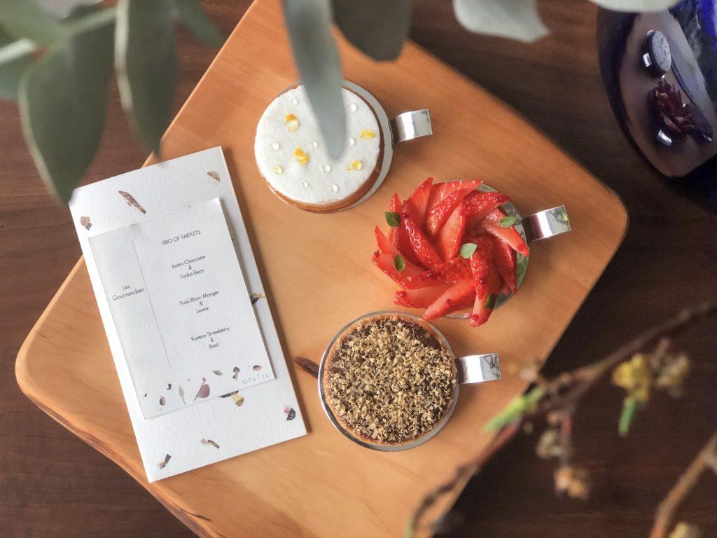 Fine dining turns creative