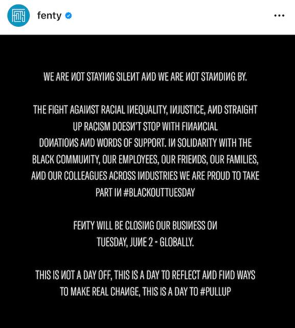 SomethingDongxi.com Fashion brands take on social media in support of Black Lives Matter