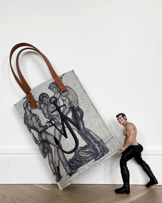 Tom of Finland's Erotic Artworks Dominate Latest JW Anderson Capsule