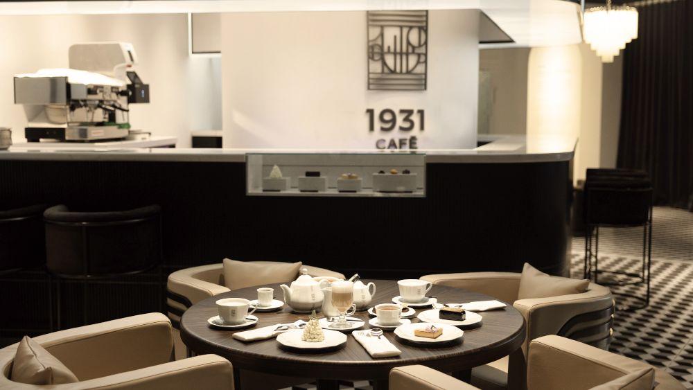 JAEGER-LECOULTRE INAUGURATES THE 1931 CAFÉ