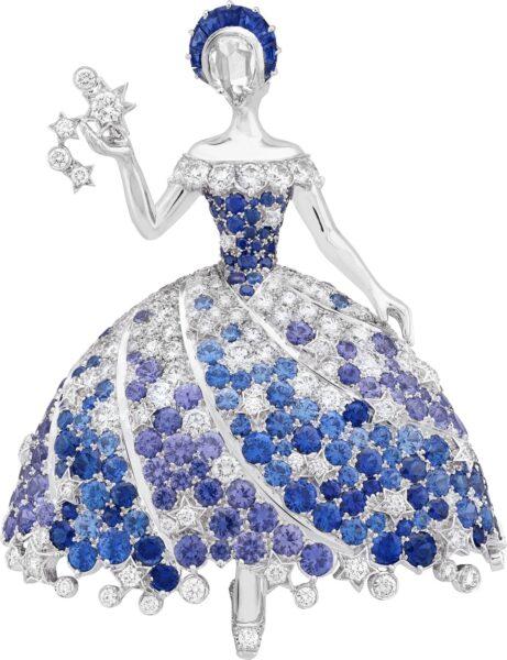 Van Cleef & Arpels High Jewellery 2021- Sous les étoiles Deesse Neptune Fee Cassiopee