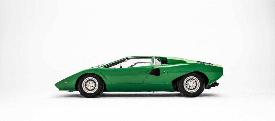 Lamborghini Countach, a legendary model celebrating its 50th anniversary