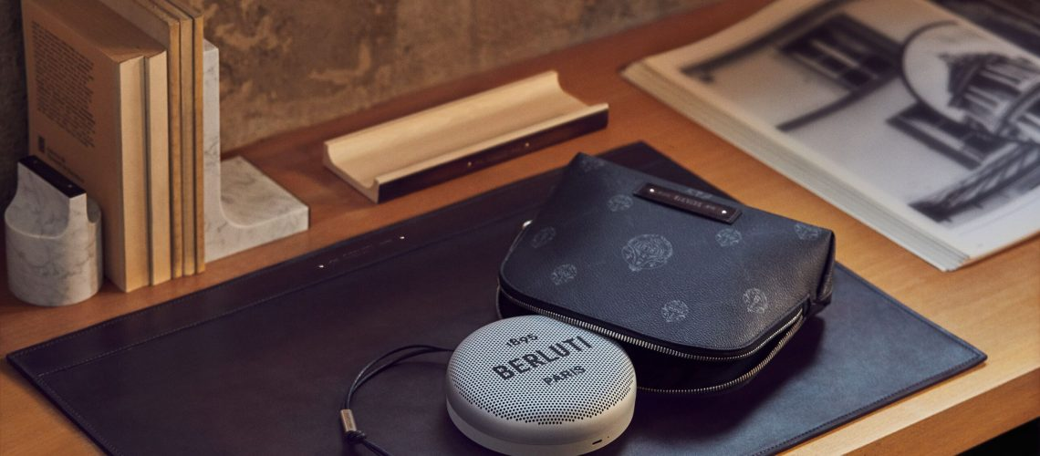 Somethingdongxi Berluti collaborates with Bang & Olufsen for the limited-edition Audiovisual series