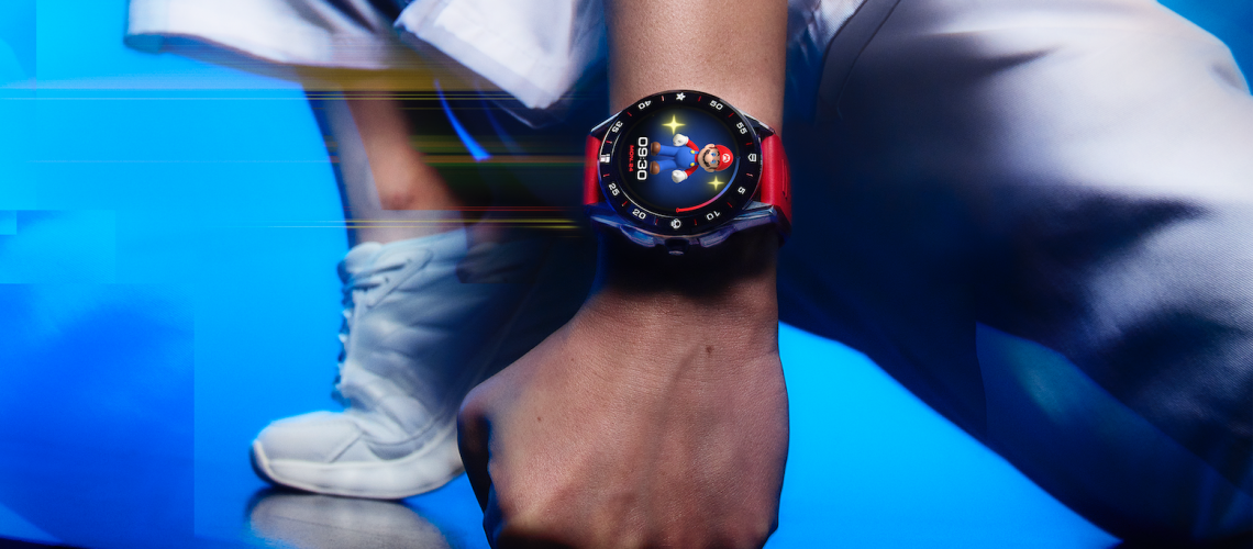 TAG Heuer team up with Nintendo for Super Mario Connected Timepiece