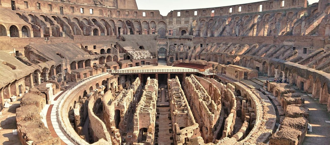 Somethingdongxi Tod's group presents the restoration of the Colosseum's Hypogea